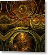 The Time Masters Metal Print