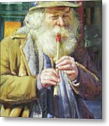 The Tin Whistle Metal Print