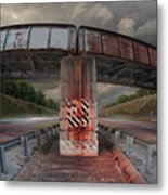 The Trestle With The Pestle Metal Print