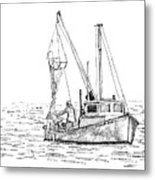 The Vessel Little Jim Metal Print