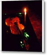 The Violin Metal Print