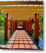 The Walkway Metal Print