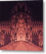 The Walls Of Barad Dur Metal Print