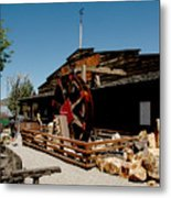 The Way It Was Virginia City Nv Metal Print