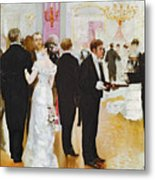 The Wedding Reception Metal Print