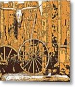 The West - Wall Art Metal Print