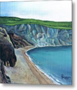 The White Cliffs Of Dover Metal Print