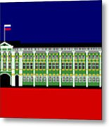 The Winter Palace Inspiration St Petersburg Russia Metal Print