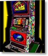 the World-Trade-Slot-Machine Metal Print