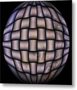 The World Weaved Together Metal Print by Myrna Migala