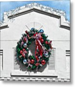 The Wreath Metal Print