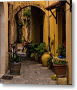 The Yellow Archway Metal Print