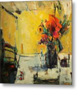 The Yellow Room Metal Print