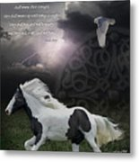 They Shall Run And Not Be Weary Metal Print