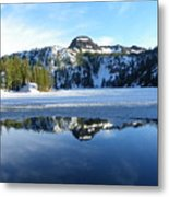 Thin Ice Metal Print