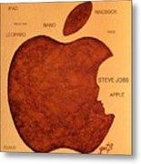 Think Different Steve Jobs 2 Metal Print
