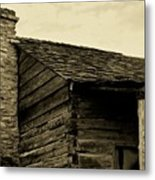 This Old Cabin Metal Print