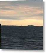 Thomas Point  - View Of The Bay Bridge Metal Print