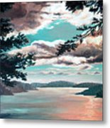 Thousand Island Sunset Metal Print