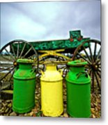 Three Jugs Metal Print by Dale Stillman