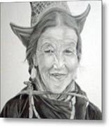 Tibetan Delight Metal Print