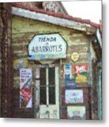 Tienda De Abarrotes Metal Print