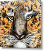 Tig The Tiger With An Attitude Metal Print