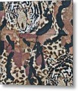 Tigers Tigers Burning Bright Metal Print