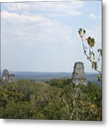 Tikal IIi Metal Print