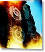 Time Is Burning Metal Print