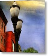 Time To Light The Lamps Metal Print