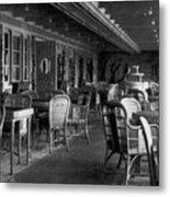 Titanic: Parisian Cafe, 1912 Metal Print