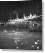 Titanic: Re-creation, 1912 Metal Print
