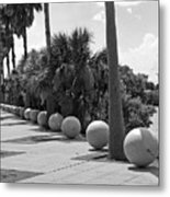 Titusville On The Indian River Lagoon In Florida Metal Print