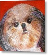 Toby The Cutest Doggie Metal Print