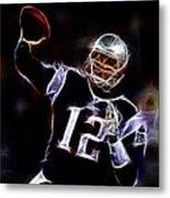 Tom Brady - New England Patriots Metal Print
