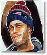 Tom Brady Metal Print by Dave Olsen