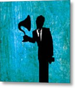 Tom Waits Metal Print by Janina Aberg