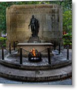 Tomb Of The Unknown Revolutionary War Soldier - George Washington  Metal Print by Lee Dos Santos