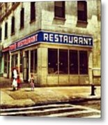 Tom's Restaurant. #seinfeld Metal Print