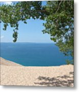 Top Of The Dune At Sleeping Bear Metal Print