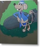 Top Rat Metal Print