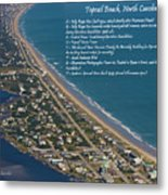 Topsail Beach Metal Print by Betsy Knapp