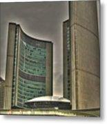 Toronto City Hall2 Metal Print