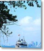 Toronto Island Ferry Metal Print