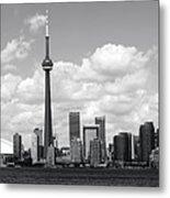 Toronto Skyline 11 Metal Print