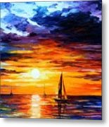 Touch Of Horizon Metal Print