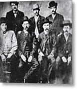 Tough Men Of The Old West Metal Print