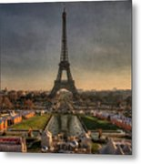 Tour Eiffel Metal Print by Philippe Saire - Photography
