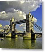Tower Bridge I Metal Print